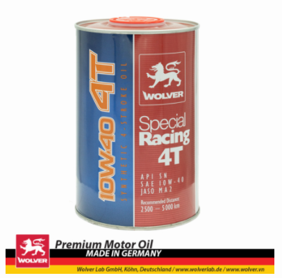 Nhớt Wolver Special Racing 10w40